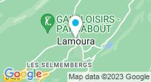 Plan Carte Plan d'eau - Lac de Lamoura