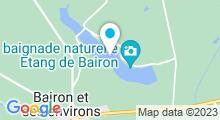 Plan Carte Plan d'eau de Bairon à Le Chesne