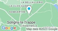 Plan Carte Base de Loisirs à Soligny-la-Trappe
