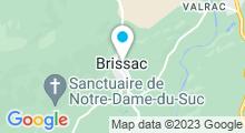Plan Carte Plan d'eau - Site Saint-Etienne d'Issensac à Brissac
