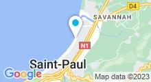 Plan Carte Piscine du Front de Mer à Saint-Paul