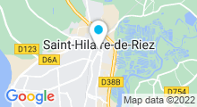 Plan Carte Piscine - Multiplexe aquatique du pays de Saint-Gilles-Croix-de-Vie à Saint Hilaire de Riez