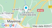 Plan Carte Centre aquatique La Vague - Piscine à Mayenne