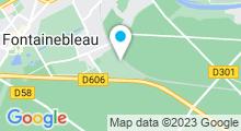 Plan Carte Piscine Citésports à Fontainebleau