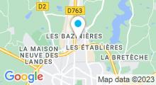 Plan Carte Centre aquatique Armonia à La Roche-sur-Yon