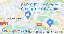 Plan Carte Stade nautique d'Avignon