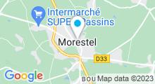 Plan Carte Piscine des Balcons du Dauphiné à Morestel