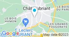 Plan Carte Piscine Espace Dauphins à Châteaubriant