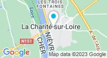 Plan Carte Piscine d'été de la Charité-sur-Loire