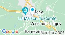 Plan Carte Piscine de Poligny