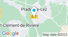 Plan Carte Piscine de Mag à Teyran
