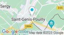 Plan Carte Piscine au fil de l'Ô à Saint-Genis-Pouilly