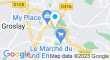 Plan Carte Piscine de Sarcelles