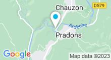 Plan Carte Piscine Isla Cool Douce à Chauzon