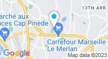 Plan Carte Piscine Busserine - Saint Barthélemy à Marseille