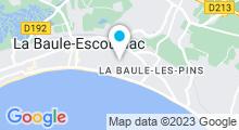 Plan Carte Piscine Aquabaule à La Baule