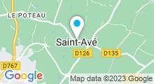 Plan Carte L'Univers D'Ô - Piscine à Saint-Avé