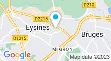 Plan Carte AQUABECOOL Eysines