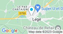 Plan Carte Piscine Le Château d'O à Légé