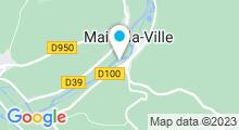 Plan Carte Base de Loisirs de Mailly-la-Ville