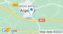 Plan Carte Plan d'eau d'Argentré