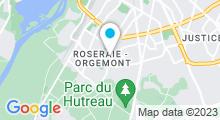 Plan Carte Piscine de la Roseraie à Angers