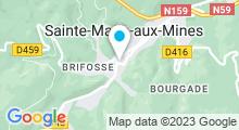 Plan Carte Piscine de Sainte-Marie-aux-Mines
