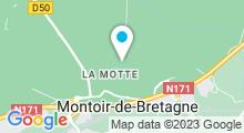 Plan Carte Bassin initiation à Montoir-de-Bretagne