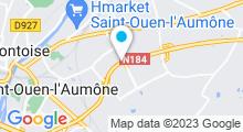 Plan Carte Piscine des Béthunes à Saint-Ouen-l'Aumône