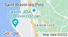 Plan Carte Complexe aquatique Aquajade - Piscine à St Brevin les Pins