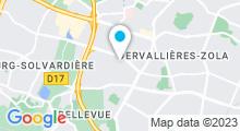 Plan Carte Piscine Ernest Renan à St Herblain