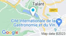 Plan Carte Piscine de la Fontaine d'Ouche à Dijon