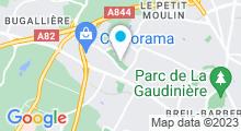 Plan Carte Piscine de la Cholière à Orvault