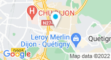 Plan Carte Piscine Olympique à Dijon