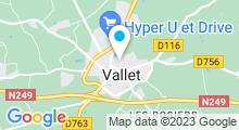 Plan Carte Piscine Naiadolis à Vallet