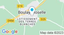 Plan Carte Piscine de Boulay Moselle