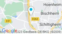 Plan Carte Centre Nautique - Piscine de Schiltigheim