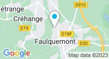 Plan Carte Piscine de Faulquemont