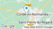 Plan Carte Piscine à Condé sur Noireau