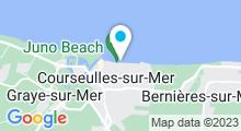 Plan Carte Piscine à Courseulles sur mer