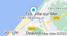 Plan Carte Piscine olympique de Deauville