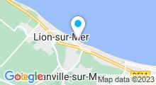 Plan Carte Piscine à Hermanville sur mer