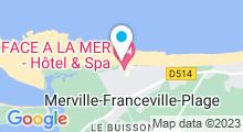 Plan Carte Piscine à Merville Franceville Plage