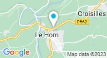 Plan Carte Centre aquatique - Piscine à Thury Harcourt