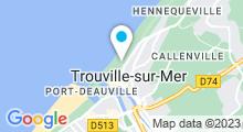 Plan Carte Piscine de Trouville sur mer