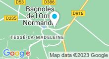 Plan Carte Piscine à Bagnoles de l'Orne