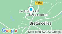 Plan Carte Piscine à Bretoncelles
