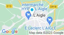 Plan Carte Piscine Le Cap'Orne à l'Aigle