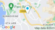 Plan Carte Piscine Desautel à Marseille