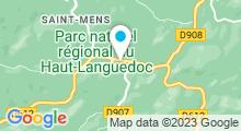 Plan Carte Piscine à Saint Pons de Thomieres